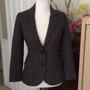 H&M charcoal gray blazer